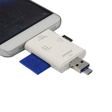 Multifunctionele Card reader SD Micro USB 3.1 Type-C USB 2.0 Micro 3 in 1 Adapter Cell Phone Accessories(China)
