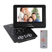 9 Inch Portable LCD Screen DVD Player Fully Compatible with MPEG4/DIVX /MP3 /DVD /VCD /CD Connection to TV US Plug