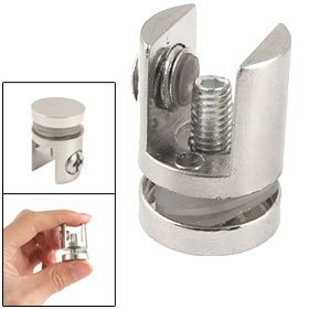 4 Pcs Bathroom Shelf 8-12mm Thickness Glass Metal Holder Clip