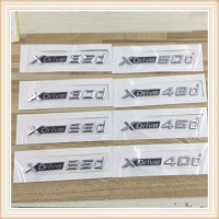 100pcs New Car Styling 3D ABS Xdrive 20d 25d 28d 30d 35d 40d 45d 48d 50d Side Badge Emblem Sticker For X3 E83 F25 X4 F26 X5 E70