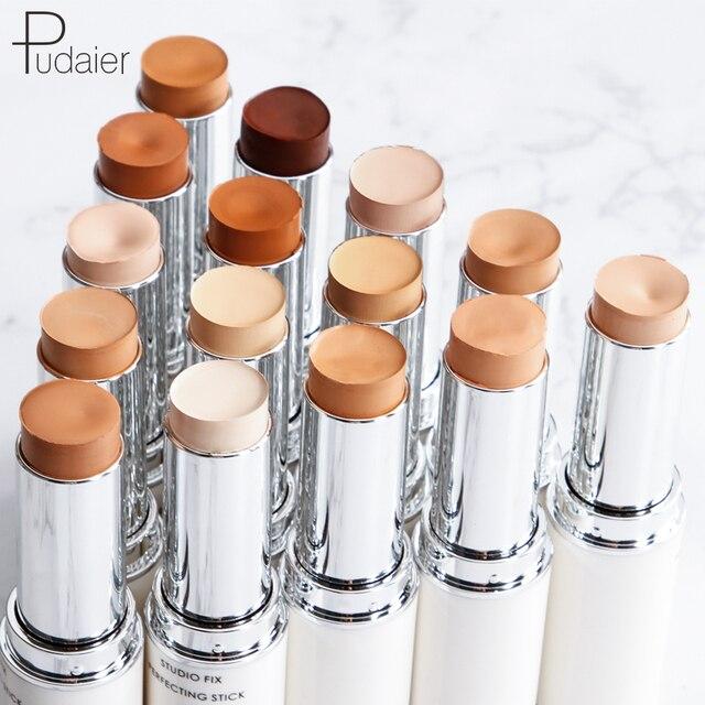 Fundación desnuda maquillaje de cara completa cubierta contorno corrector Base Primer hidratante ocultar imperfecciones de la marca bronceador palo corrector
