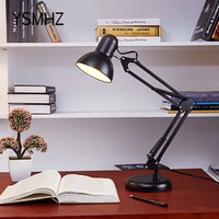 YSMHZ American Country Style Desk Lamp 360 Degree Adjustable Fashion Table Light For Bedroom Lamp 5