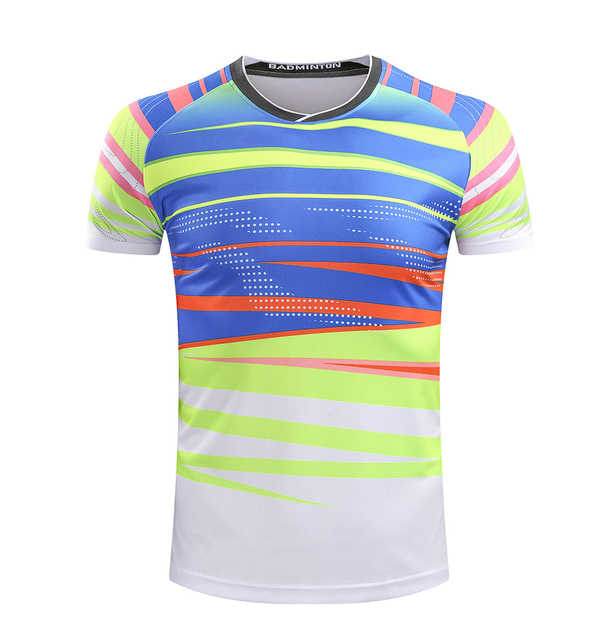 Free Printing Name CHINA Badminton shirt Men/Women , Badminton tshirt , sports tennis shirt 215AB