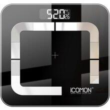 New Original Bathroom Body Weight Scale Floor Digital Fat Weighting Scale Smart Human Weighing Bluetooth Scale bmi 20 Body Data
