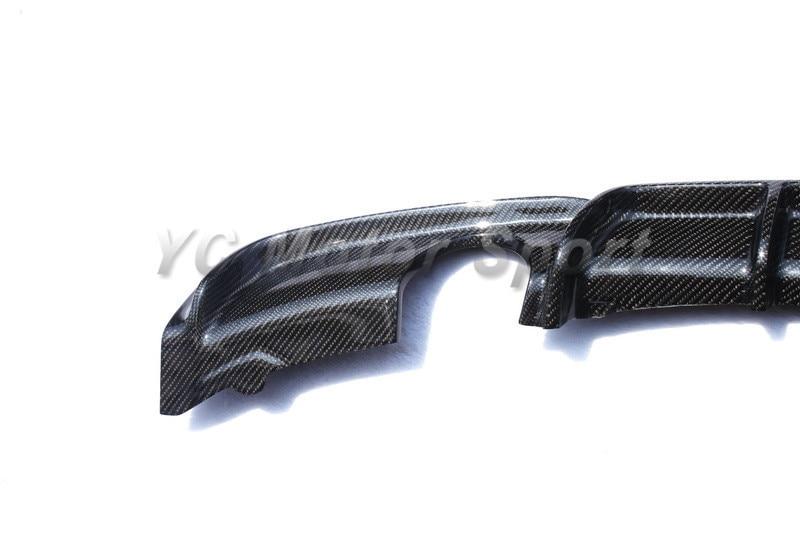 Автомобильные аксессуары из углеродного волокна OEM стильный диффузор глушителя подходит для 2012- F30 F35 335I MT MP двойной выхлоп задний диффузор