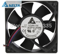 Delta AFB1212GHE CF00 120x120x38mm Cooling Fan 240.96 CFM 5200 RPM 62 dBA 3 pin TAC connector