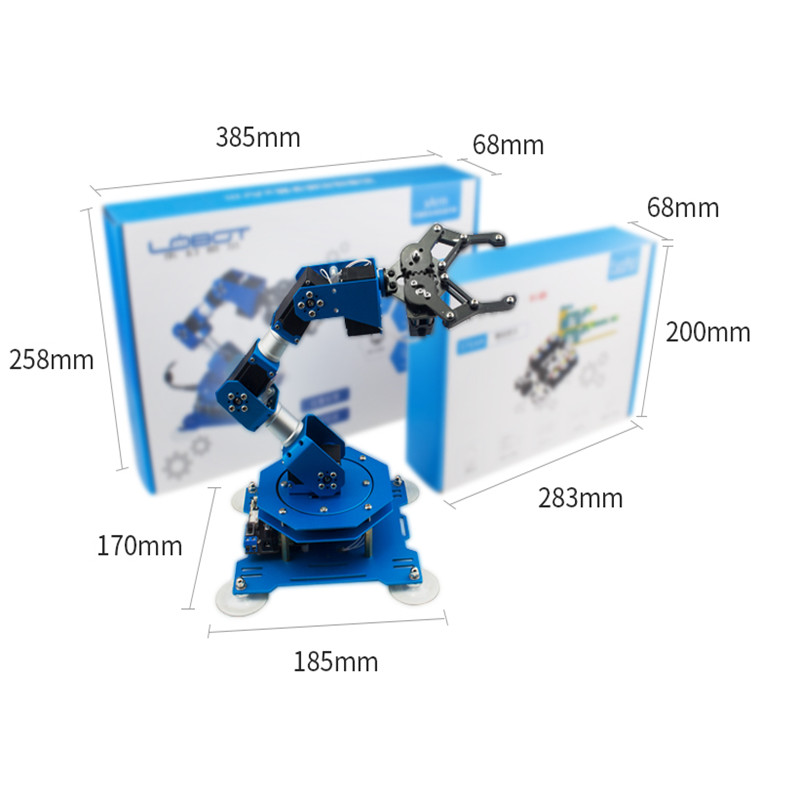 US $232 0 |6 degrees of freedom mechanical arm/serial bus steering machine  arm xArm/Scratch/Arduino programming-in Action & Toy Figures from Toys &