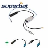Superbat FM AM To DAB FM AM Car Radio Aerial Amplifier Converter Splitter And Fakra To