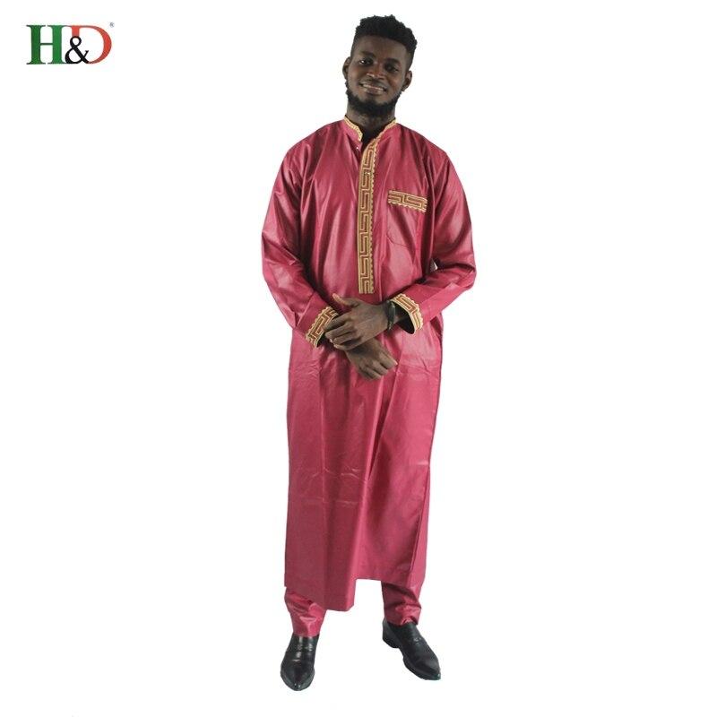 Δωρεάν αποστολή Αφρικανική Dashiki Riche - Εθνικά ρούχα - Φωτογραφία 3