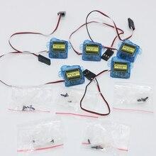 Регистрация! 4 шт./лот 4,3 г мини микро сервопривод для радиоуправляемого вертолета(3,7 г 9 г микро сервопривод