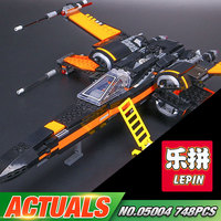 New LEPIN 05004 Star Wars First Order Poe S X Wing Fighter 79102 Building Blocks Compatible