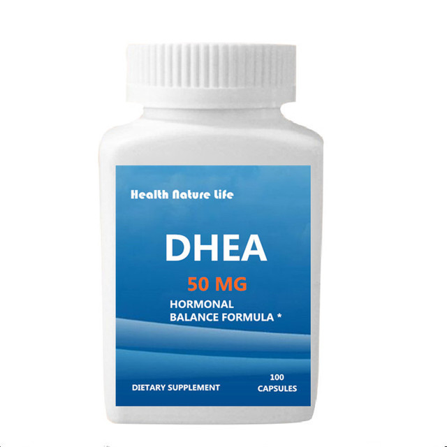 DHEA 50 mg Supplement – Hormonal Balance Formula For Men & Women