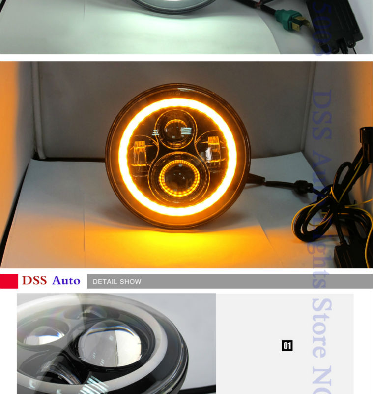 40w 7inch led headlight for jeep (4)
