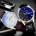 Lxury pareja Amantes Relojes Mujeres Del Reloj de Oro de Los Hombres de Primeras Marcas Reloj Famoso Hombre Mujer Reloj de Oro de Cuarzo Reloj de Pulsera