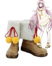 K RETURN OF KINGS Anime Neko Cosplay Shoes Boots Custom Made 3
