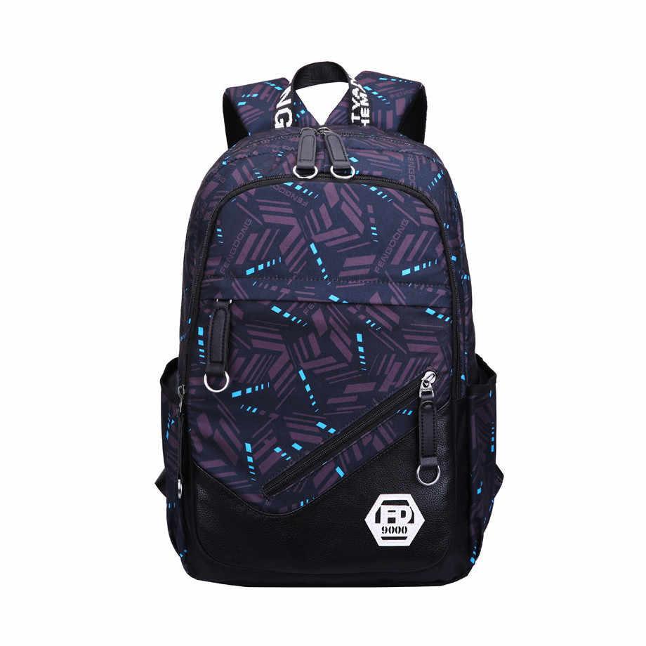 1d5c92a94ae8 ... Новое поступление водонепроницаемая обувь черного цвета школьный рюкзак  для мальчика высокого школьные сумки для мальчиков мужские ...