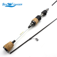 High Quality UL Spinning Fishing rod Lure Rod Spinning 1.68M 1.8M 1 6g Perch Spin Fast Rod Fishing Tackle Solid Tip pole