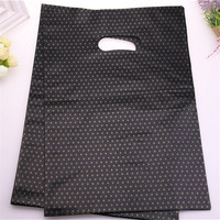 Wholesale 100pcs Lot 25 35cm Large Bolsas De Plastico Gift Bags With Multi Stars Black