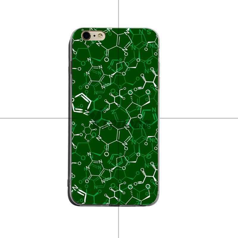 Yinuoda الكيمياء الشخبطة لينة tpu غطاء إطار هاتف محمول ل فون 6 زائد 6 ثانية 7 زائد 8 زائد X XS XR كوكه قذيفة