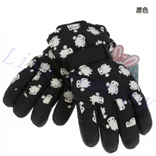 2016 hot sale a pair of winter riding five fingers gloves cold proof cute child outdoor