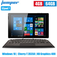 Jumper EZpad 7 2 in 1 Tablet PC 10.1 inch Windows 10 Cherry T Z8350 Quad Core 1.44GHz 4GB 64GB eMMC 6500mAh Tablet with Keyboard