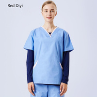Medical clothing for women Doctor Nurse Scrubs Set Surgical Operation Overalls Top+Pants Slim SPA Uniforms