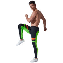 Mens Running long pants Camo Compression Pants Skinny sport Leggings Base Layer Fitness Jogging Trousers Tights Sexy Gym Wear
