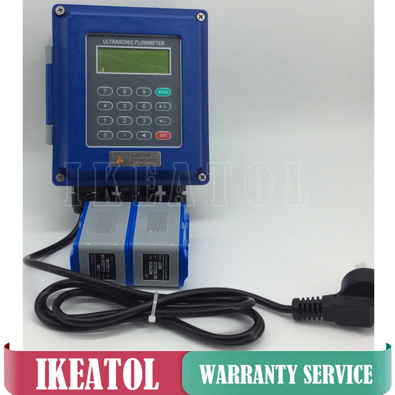 Wall-mounted type TUF-2000B-TL-1 Transducer (DN300-6000mm) Ultrasonic liquid flow meter flowmeters