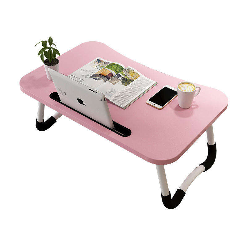 Bed Small Table Home Foldable Lazy Student Dormitory Bedroom Learning To Do Table Simple Laptop Table