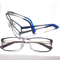 SI1008 New Glasses Frames Fashion Men Women Tine Stainless Eyeglasses Frames Prescription Optical Frames 10pcs Lot