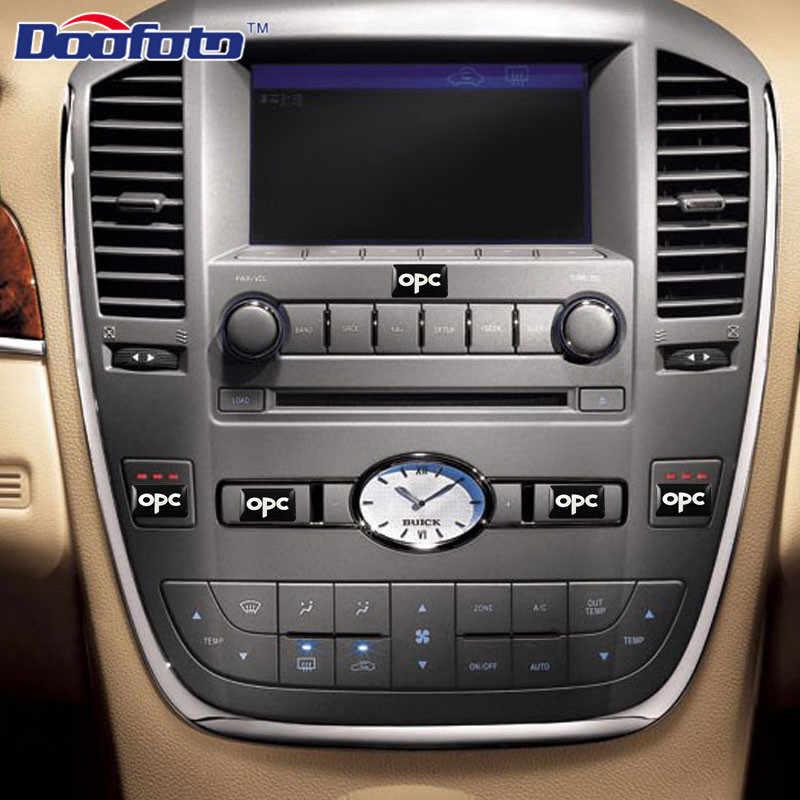 Doofato accesorios de coche diseño emblema insignias adhesivas para Opel OPC insignia para corsa Astra Antara Meriva nacional para Bmw e90 50 Uds