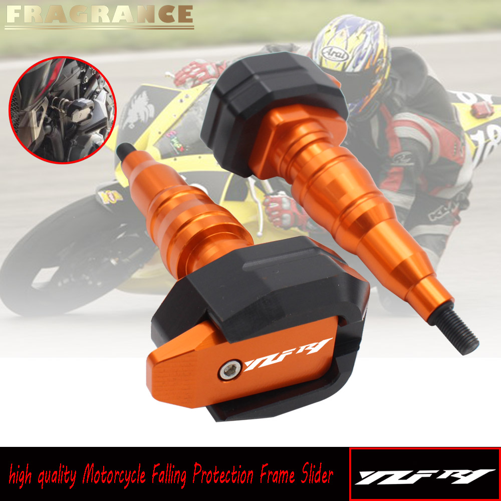 Motorcycle Falling Protection Frame Slider FairingGuard Anti Crash Pad Protector for YAMAHA YZFR1 YZF <font><b>R1</b></font> 2015 2016 2018 <font><b>2019</b></font> image