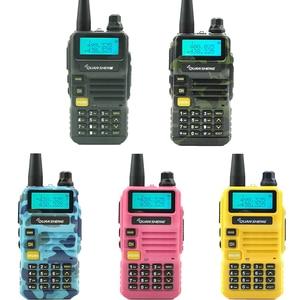 Image 2 - Quansheng UV R50 Walkie Talkie UHF VHF Dual Band 5Wวิทยุ2800MAhวิทยุแบบพกพาuv 5r Hf Transceiver Uv 5r
