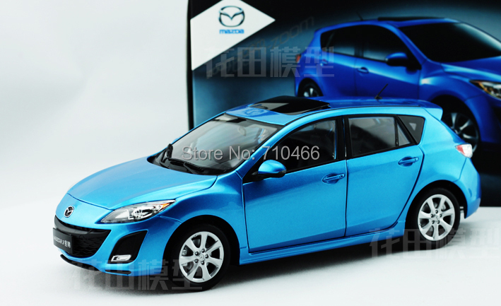 1 18 New Mazda 3 2017 Star Gallop Hatchback Cast Model Car Mini Kits Limitied Edition Difficult To Find