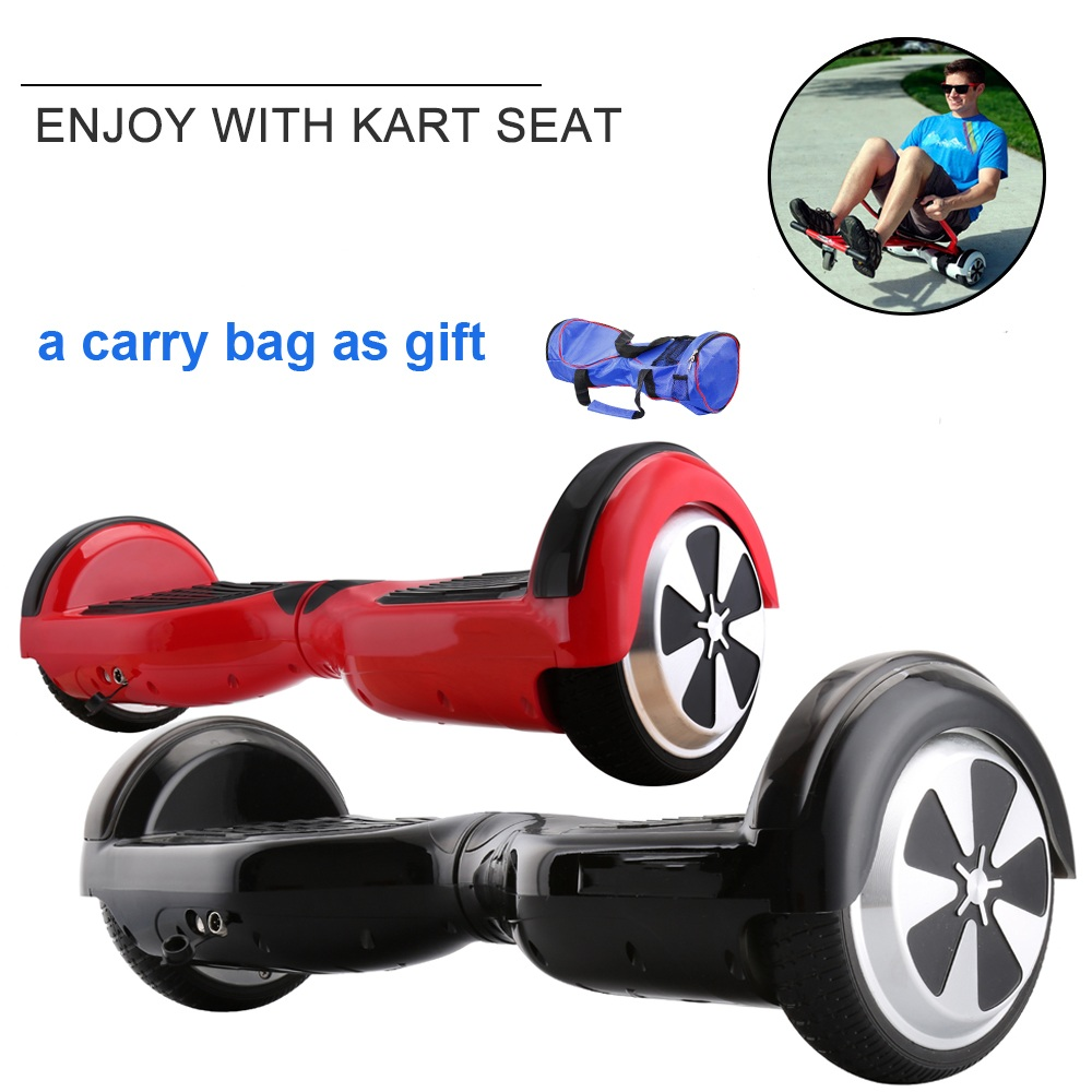 SILI/® Drift Suspension Kart Fits 2 Wheel Self Balance Scooters Follow your Board Sliding and Performing Tricks