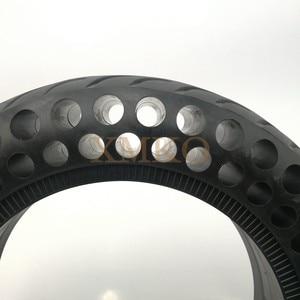 Image 4 - Обновленные шины для скутера NINEBOT MiniPRO с твердыми отверстиями, двойной амортизатор, непневматические мини шины Xiaomi, демпфирующие резиновые шины