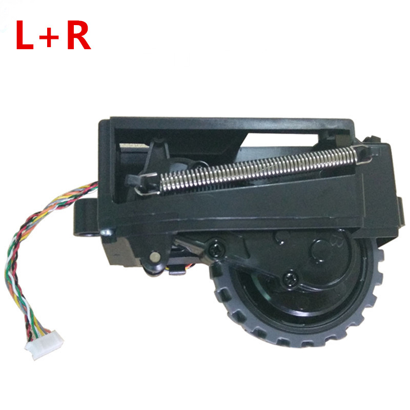 2pcs Original Left Right wheel motors for robot vacuum cleaner ilife V7 V7S ilife V7S PRO robot Vacuum Cleaner ilife Parts Wheel 2pcs left