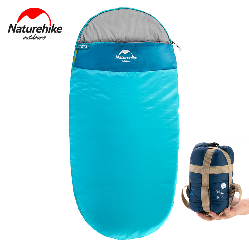 Naturehike Outdoor Envelope Sleeping Bag Mini Ultralight Multifunction Travel Bag Hiking Camping Sleeping Bags Nylon naturehike goose down sleeping bag adult waterproof travel outdoor camping hiking warm winter envelope ultralight sleeping ba