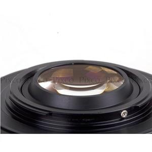 Image 2 - Pixco EOS M 4/3 焦点減速絞り構築キヤノンefマウントレンズマイクロ 4/3 + レンズキャップu クリップ + カメラストラップ
