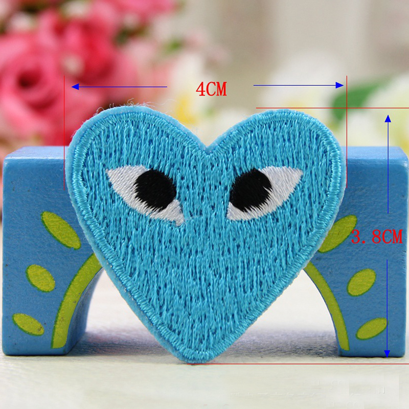 Sk 50pcs Lot Diy Heart Shape Patches Comme Des Garcons Patch Cartoon Heart Embroidered Iron On Clothes Appliques Random Color Clothes Iron Clothes Iron Storageclothes Room Aliexpress