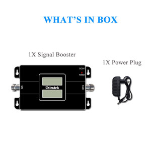 Image 5 - Lintratek NEW Dual LCD Displays 3G GSM Cellular Signal Repeater 900MHz UMTS 2100MHz 2G 3G Dual Band Cell Phone Signal Booster