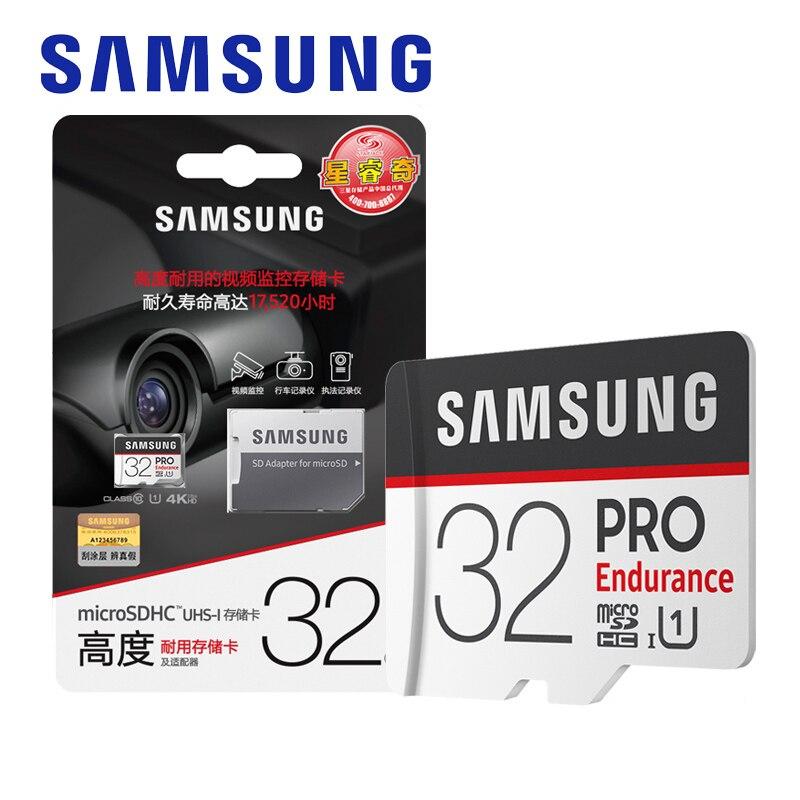신제품 100% 원래 삼성 메모리 카드 64 기가 바이트 프로 지구력 u1 128 기가 바이트 클래스 10 마이크로 sd 카드 32 기가 바이트 마이크로 sd UHS-I tf 카드