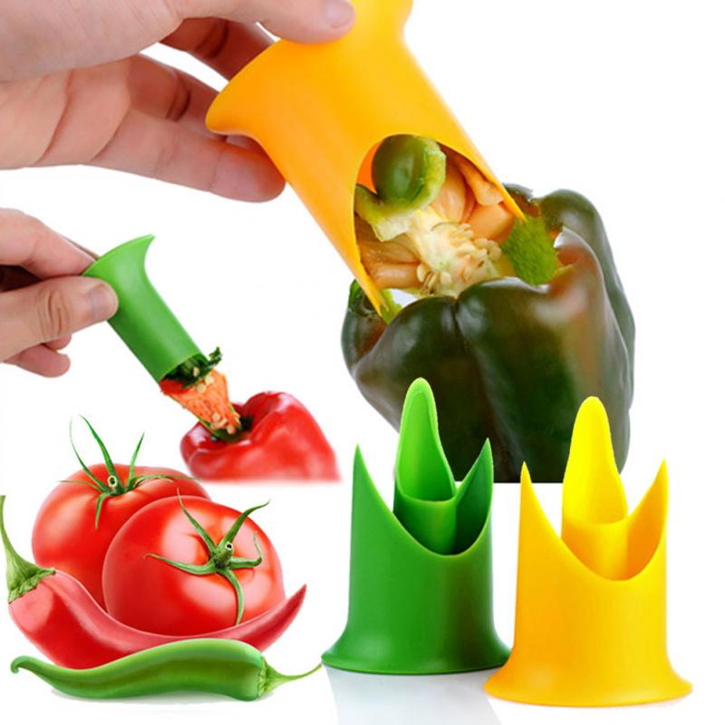 Home hotel cooking Tools Kitchen gadgets Pepper tomato corer fruit & vegetable p