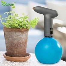 Garden 1L Electric Watering Cans For Flowers Sprayer Plant Watering Spray Pressure Sprayers Jardin Irrigator Pot Spray Bottle