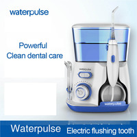 Teeth Whitening V300 Dental Flosser Pro Oral Irrigation 800ml Oral Hygiene Dental Irrigator For Family Daily Oral Care Health