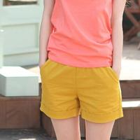 Summer Women Shorts Solid Candy Color Fashion Casual Plus Size Cotton Short Pants High Quality