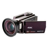 3inch LCD WiFi Digital Camera Full 1080P Video Camera HD 4K Touchscreen DV Camcorder Video Player with Camera Bag Digital