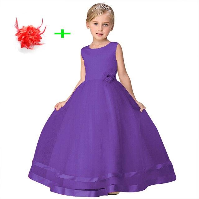 Junior mädchen prom kinder baby partei pageant blaue blume ...