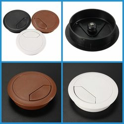 Best promotion 60mm computer desk grommet table cable tidy outlet port surface wire hole cover durable.jpg 250x250