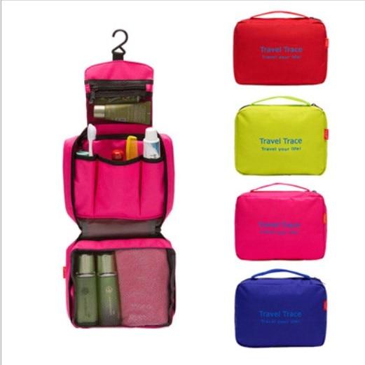 49 hot koop multifunctionele multicolor reizen opbergtas make-up tas - Home opslag en organisatie